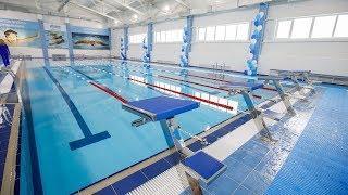Жители Унъюгана теперь могут устраивать заплывы в новом бассейне