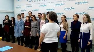 Михаил Турецкий и студенты в Хабаровске