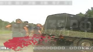 По горячим следам в Харовском районе задержали угонщика УАЗа: видео