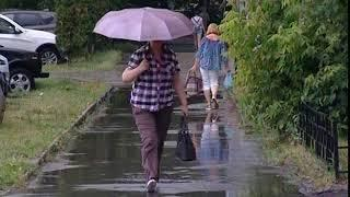 Дожди и грозы надвигаются на Ярославскую область