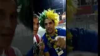 Бразильский футбольный болельщик передал привет Ставрополю
