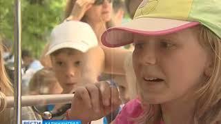 В парке «Юность» развернулся детский фестиваль профессий