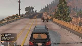 Реальная жизнь в GTA 5 №24.ДТП