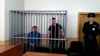 Оглашение приговора Хризману и Чудову в Хабаровске