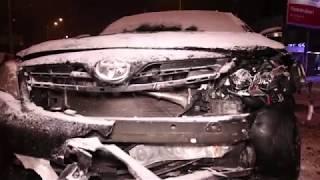 ДТП на Полярной: столкнулись Toyota и Hyundai