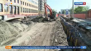 В Барнауле продлили сроки перекрытия улиц Гоголя и Пушкина