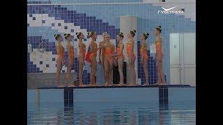 Первенство ПФО по синхронному плаванию стартовало в Самаре