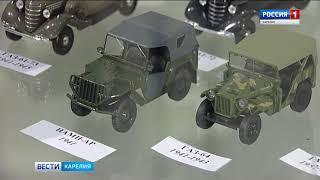 Выставка миниатюр военной техники открылась в Петрозаводске