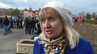 В центре поселка Новокирпичный гремели военно-патриотические песни
