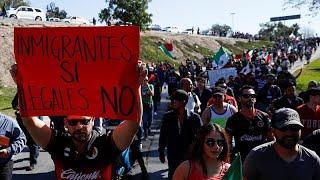 """Жители Тихуаны: """"Не вторгайтесь в наш дом""""!"""