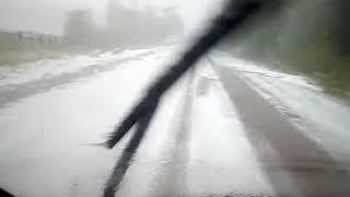 Аномальная погода в Чаинском районе превратила лето в зиму