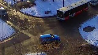 ДТП (авария г. Волжский) ул. Дружбы ул. Пионерская 12-03-2018 16-16