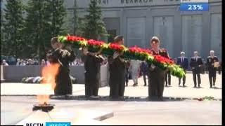 Торжественный митинг в честь Дня пограничника прошёл в Иркутске