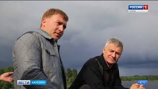 Глава Карелии посетил Лахденпохский район с рабочей поездкой