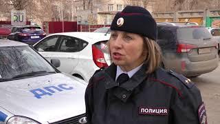 Сотрудники Госавтоинспекции вышли в рейд, чтобы проверить, как ведутся перевозки детей
