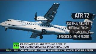 Iranian Aseman Airlines plane with 66 on board crashes midflight