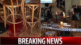 Man wanted over graphic Saturday night stabbing at beachside bar  | Breaking News US/Australia