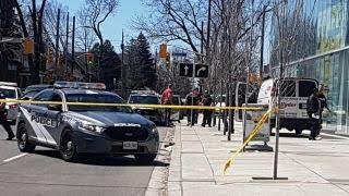 Police: 9 dead, 16 injured in Toronto van incident