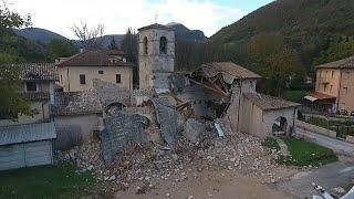 Новое землетрясение в центральной Италии