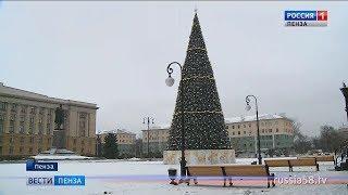 В Пензе открыли обновленную площадь Ленина