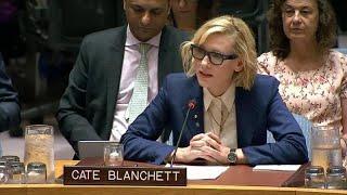 Кейт Бланшетт вступилась за рохинджа