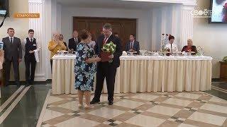 В краевом правительстве женский актив Ставрополья поздравили с наступающим 8 марта
