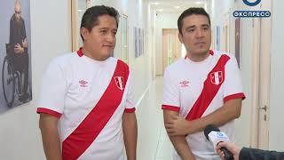 Футбольные болельщики из Перу остановились в «Доме Вероники»