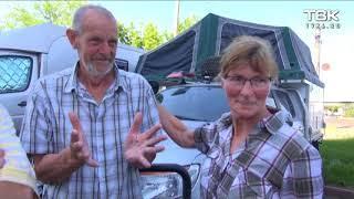 В Красноярск прибыли путешественники из Голландии
