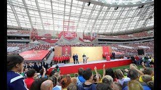 Россия в преддверии Чемпионата мира по футболу. Фрагмент Ньюзтока RTVI