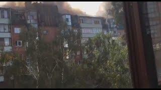 В подмосковном Королеве горит крыша жилого дома