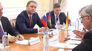 Губернатор Кубани провел встречу с послом Испании