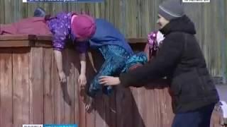 В Емельяновском районе детям запретили ходить в школу, потому что учиться в ней просто опасно