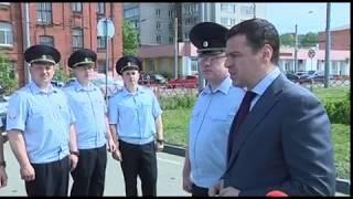 Глава региона Дмитрий Миронов передал транспортной полиции два новых служебных автомобиля