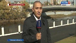 Реконструированный по уникальной технологии мост открыли в Омске