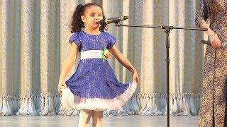 """UTV. В Уфе более 100 малышей соревновались в чтении стихов  на конкурсе """"Речитайка"""""""