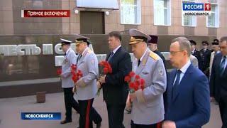 В Новосибирске к 300-летию полиции проходит большая праздничная программа