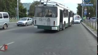 В Пензе на улице Калинина в ДТП пострадал подросток