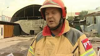 Пожар ликвидирован: крупное возгорание в Ростове тушили дольше 2 часов