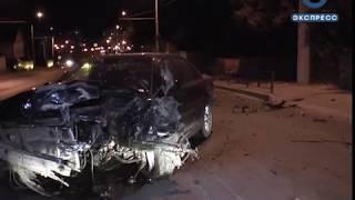 На ул. Карпинского столкнулись два авто. ВИДЕО