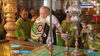 Большие торжества ко Дню памяти преподобных Сергия и Германа начались на острове Валаам