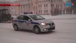 С улиц Челябинска за ночь вывезли 2,5 тысячи тонн снега