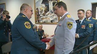 Волгоградские пожарные отмечают 100-летие службы