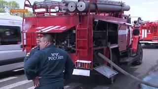 В сгоревшей BMW X-6 в Ставрополе находился человек. Мужчина погиб