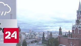 В Москве ожидаются первый снег и сильный ветер - Россия 24