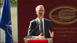 Македония сможет вступить в НАТО только после смены названия - Столтенберг…