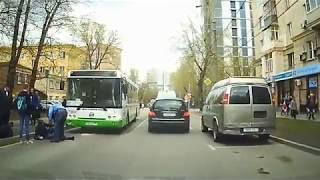 Автобус сбил пешехода вМоскве