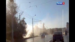 Многометровый коммунальный фонтан в СЖМ Ростова уже перекрыли
