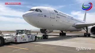 Около 400 паломников отправили из аэропорта Махачкалы в Саудовскую Аравию