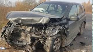 На Окружной дороге в Рыбинске произошло тройное ДТП с пострадавшими