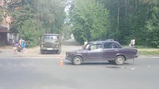 В Ярославле в ДТП пострадал пожилой велосипедист
